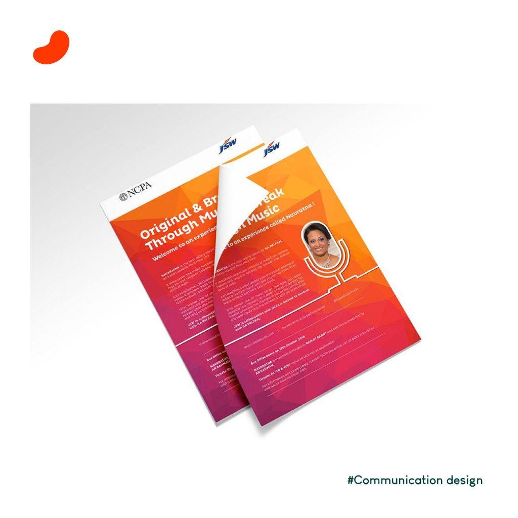 Leaflet Design for JSW, byOrrigem Design Hub