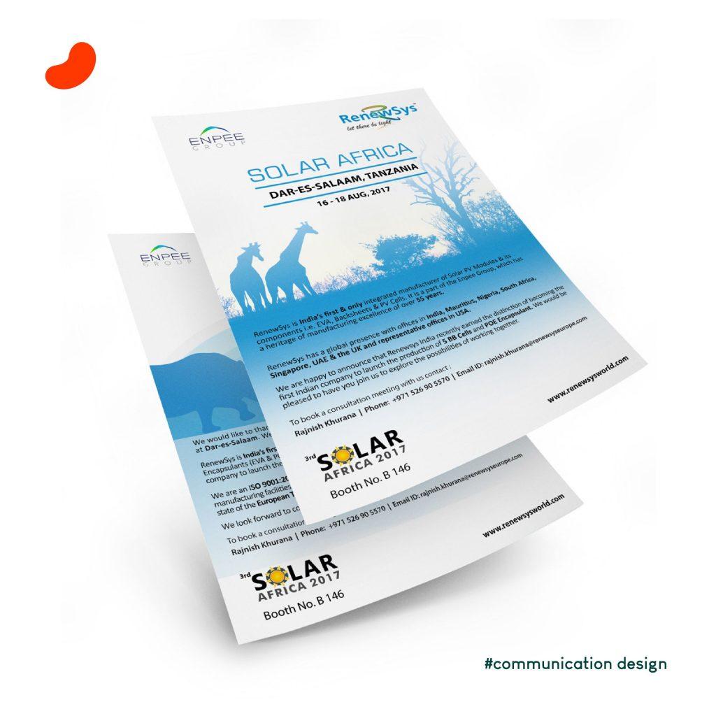 Leaflet, RenewSys South Africa, Design by Orrigem Design Hub