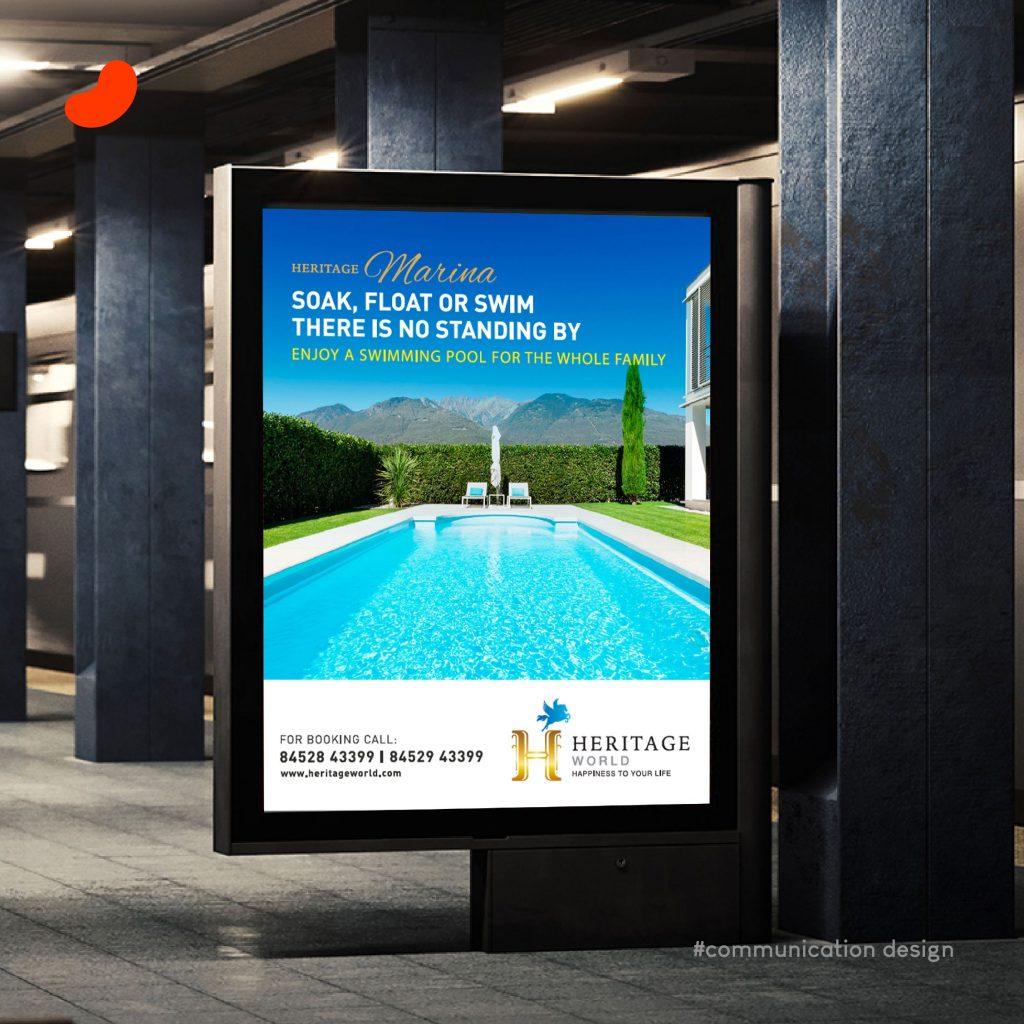 Poster, For Heritage World, Design by Orrigem Design Hub
